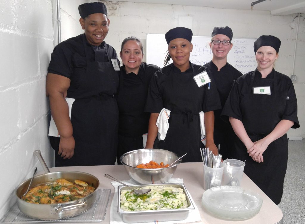 Culinary Workforce Training Program Participants